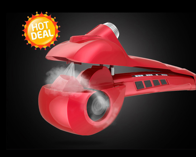 ShowLiss Pro Steam Curl Red